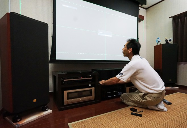 SONY VPL-VZ1000 Accuphse DENON JBL 山口県 広島県 福岡県 島根県 ホームシアター