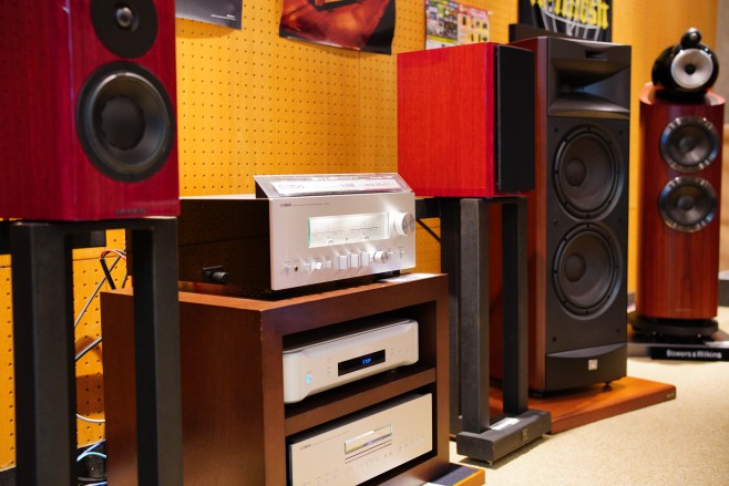 YAMAHA A-S3000 CD-S3000 DYNAUDIO The Special Forty JBL S-3900 ESOTERIC N-05