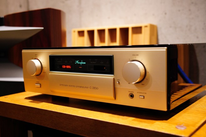 Accuphase アキュフェーズ C-2850 山口県 オーディオ