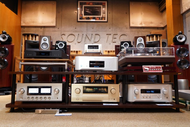 LUXMAN L-509u LINN AKURATE DS ESOTERIC K-03XS ACCUPHASE E-650 ESOTERIC F-05 MONITOR AUDIO SILVER 300 TAD-ME1 B&W 803D3